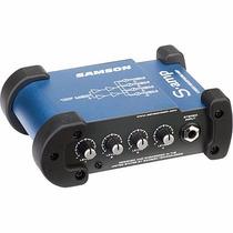 Samson S-amp Amplificador De Audifonos 4 Canales