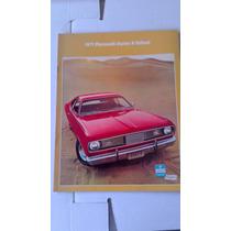 Catalogo Original De Venta De Dart Duster-valiant 1971
