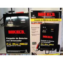Cargador De Baterías Con Arrancador 2/35/200 Amperes Pm0