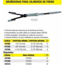 Bruñidoras Para Cilindros De Frenos 1/2 Surtek 107202 Vv4