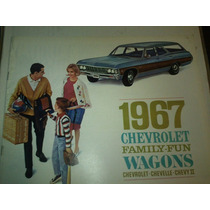 Catalogo De Venta Chevrolet 1967 Wagons Chevelle Chevy 2