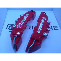 Cubre Calipers Brembo 6 Pistones 3d Logo En Relieve.