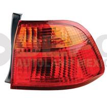 Calavera Honda Civic 1999 -2000 Ext Der 4 Puertas Ambar/rojo