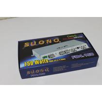 Amplificador Suono 4 Canales Clade D Fd4.150