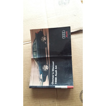 Manual De Usuario Audi A-4 Modelo 1996 Original.