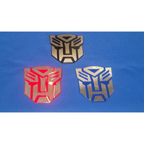 Emblema Laminado Transformer