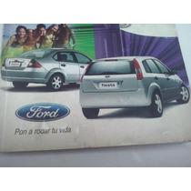 Manuales Ford Fiesta Con Funda
