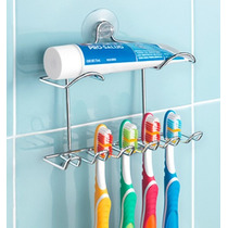 Oferta!! Organizador Dental Lux Betterware Ideal 5 Cepillos