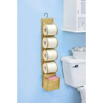 Porta Rollos Y Toallas Sanitarias Para Baño Betterware