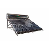 Calentador Solar Acero Inoxidable 285 Litros 24 Tubos