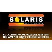 Calentador Solar Solaris 4-6 Personas,,12 Tubos,,150 Litros
