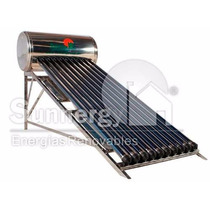 Calentador Solar En Acero Inoxidable 130 Litros