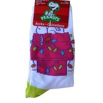 Tamaño Cacahuetes Snoopy Christmas Holiday Chicas Jóvenes 9-