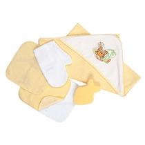 Kit Bebe Burbujas 0 A 12 M-amarillo Accesorios Baby Mink