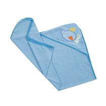 Toalla Bebe Salida Baño 0 A 12 M-azul Accesorios Baby Mink