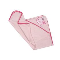 Toalla Bebe Salida Baño 0 A 12 M-rosa Accesorios Baby Mink