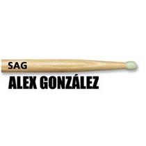 Baquetas Alex Gonzalez (mana) Para Bateria Mod.sag