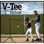 Combo V-tee + Guanteletas Para Practicar Beisbol O Softbol