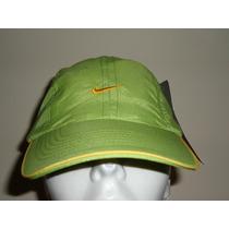 Gorra Nike 100% Original Dri-fit P/dama Verde Ajustable
