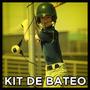 Kit De Bateo: Hitaway + Casco + Guanteletas + Brea + Codera