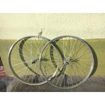 Rines Para Bicicleta Montaña Antigua R 26 Mercurio 36 Rallos