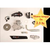 Kit Motor 80cc De Gasolina Para Bicicletas Y Bicimotos Romf