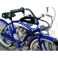 Bicicletas & Bicimotos Con Motor 80cc De Gasolina 2 Tiempos