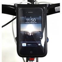 Porta Celular Para Bicicletas Marca Serfas Contra El Agua