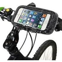 Portacelular Iphone Para Bicicleta Motocicleta Contra Agua