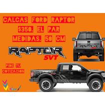 Calcomanias Ford Raptor.