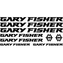 Jgo De 9 Calcomanias Para Bicicleta Gary Fisher