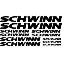 Jgo De 11 Calcomanias Para Bicicleta Schwinn