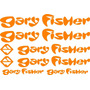 Jgo De 8 Calcomanias Para Bicicleta Gary Fisher