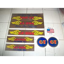 Calcamonias Tipo Gt Bmx Crrome Moly Free Style