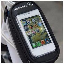 Maletin Alforja Estuche Bolsa Porta Celular Para Bicicleta