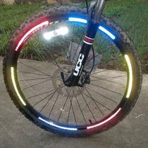 Reflejante Para Rin De Bicicleta Stickywow Todos Colores