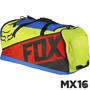 Maleta Mochila Fox Podium Azul/amarillo 2016 Viajes Largos