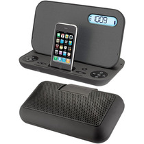 Bocina Reloj Despertador Iphone Y Ipod Ihome Studio Ip49