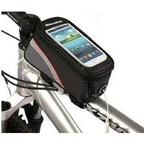 Mochila Porta Celular Para Bicicleta Con Ext. De Audifonos