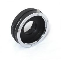 Adaptador Canon Eos A Micro 4/3 C/ Anillo Abertura Nuevo Mn4
