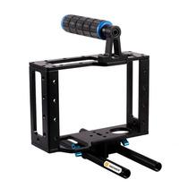 Cage 15mm Soporte Para Camara Dslr Video Envio Gratis Mn4