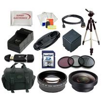Paquete Accesorios Para Panasonic Ag Ac7