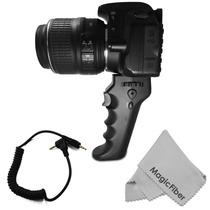 Pistol Grip Con Boton Disparador P Pentax K3 K5 K30 K50 Maa