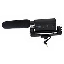 Microfono Dslr Shotgun Tipo Rode Marca Takstar Canon Sony