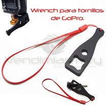 Gopro Wrench De Tornillos Accesorio Adaptador Montura Go Pro