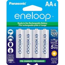 Paquete De 4 Baterias Aa Recargables Pre-cargadas Nuevo