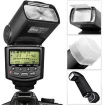 Flash Foto Profesional Altura Ttl Autofocus Nikon Nuevo