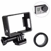 Kit Frame + Filtro Protector Gopro Accesorios Go Pro Carcasa