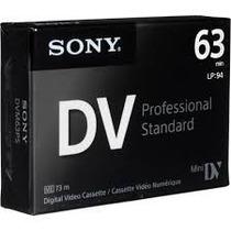 Cassette Sony Dv Profesional Estandar Solo Mayoreo $60.00 Pz