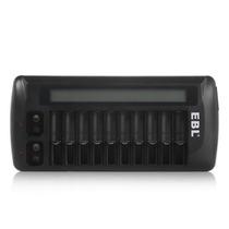Cargador P Baterias Recargables Aa Aaa 9v Capacidad 12 Pilas
